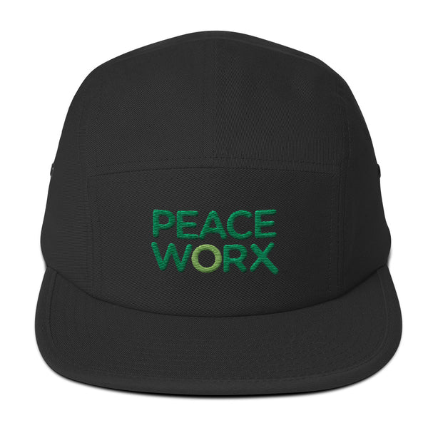 PeaceWorX Five Panel Cap