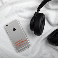 Think SCAD iPhone Case