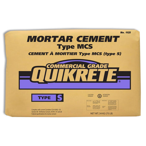 Quickrete Mortar Cement