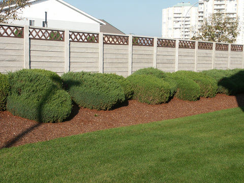 WoodCrete Fencing