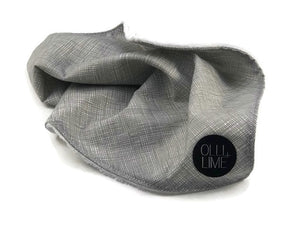 Nest Grey Lovey Security Blanket - Olli+Lime