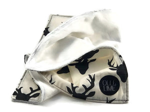 Deer Security Blanket - Lovey - Modern Crib Bedding