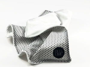 Dot Security Blanket - Lovey - Modern Crib Bedding