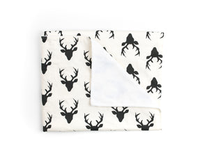 Deer Blanket - Modern Crib Bedding