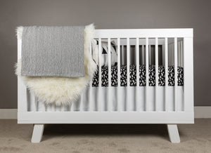 Snowy Mountain Crib Bedding Set - Olli+Lime
