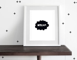 Dream - Modern Wall Art - Olli+Lime