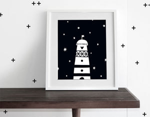 Light House - Modern Wall Art