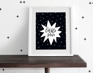 Little Star - Modern Wall Art - Olli+Lime