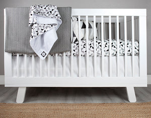 Multi Triangle Crib Bedding Set Deluxe