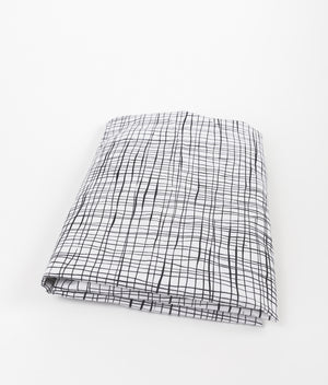 Wavy Etches Fitted Cribsheet - Olli+Lime