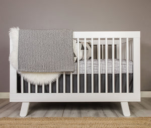 Wavy Etches Crib Bedding Set - Olli+Lime