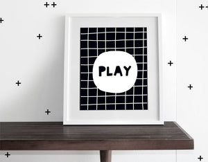 Play - Modern Wall Art