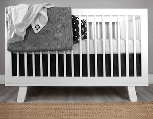 Tiny Dash Crib Bedding Set Deluxe
