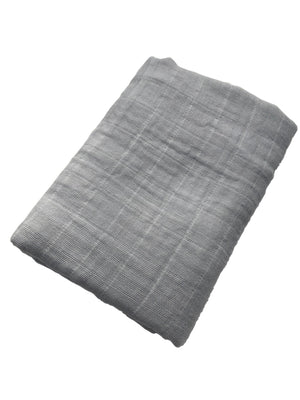 Light Gray Swaddle Blanket