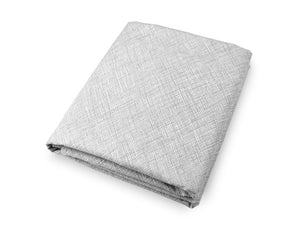 Nest Fitted Crib Sheet Grey and White Cotton Percale - Modern Crib Bedding