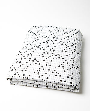 Tiny Houses Fitted Crib Sheet Cotton Percale - Modern Crib Bedding