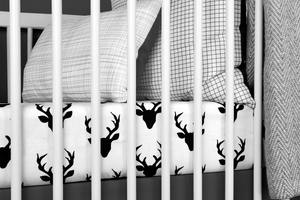 Deer Crib Bedding Set Classic