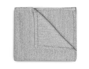 Weave Blanket - Grey - Modern Crib Bedding