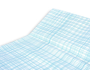 Hatch Blue Changing Pad Cover - Olli+Lime