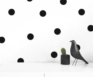 LARGE EASY TO APPLY DOT WALL DECALS - Modern Crib Bedding