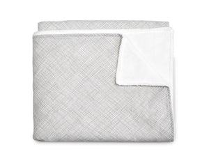 Nest Grey and White Soft Crib Blanket - Modern Crib Bedding