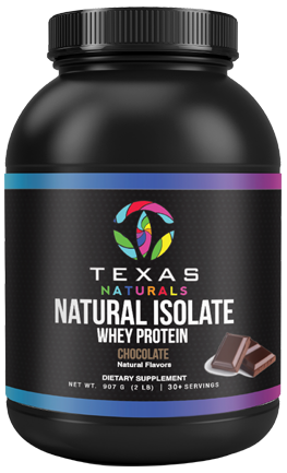 Natural Isolate - chocolate - Texas Naturals CBD Oil