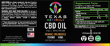 Orange Creamsicle Full Spectrum CBD Oil 1500MG - Texas Naturals CBD Oil