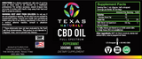 Peppermint Isolate CBD Oil 3000MG - Texas Naturals CBD Oil
