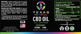 Peppermint Full Spectrum CBD Oil 1500MG - Texas Naturals CBD Oil