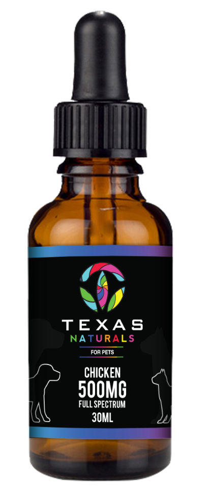 Chicken CBD Oil For Pets 500MG - Texas Naturals CBD Oil