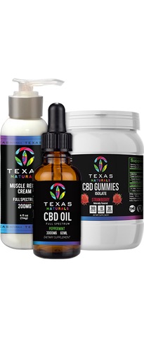 CBD Wellness Bundle - Texas Naturals CBD Oil