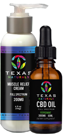 Full Spectrum Oil & Muscle Relief Cream Bundle