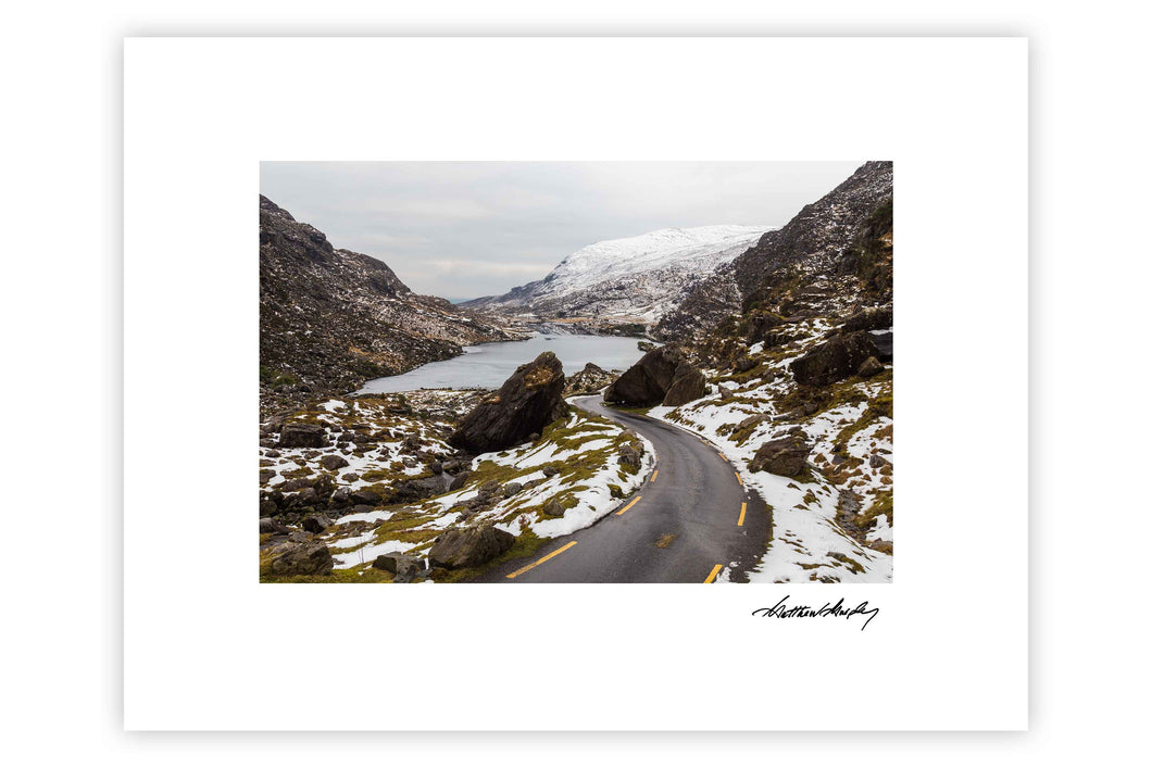 Gap Of Dunloe Snow