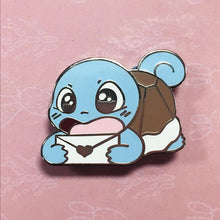 Load image into Gallery viewer, Messenger Squirtle Enamel pin - Petty Bones Club