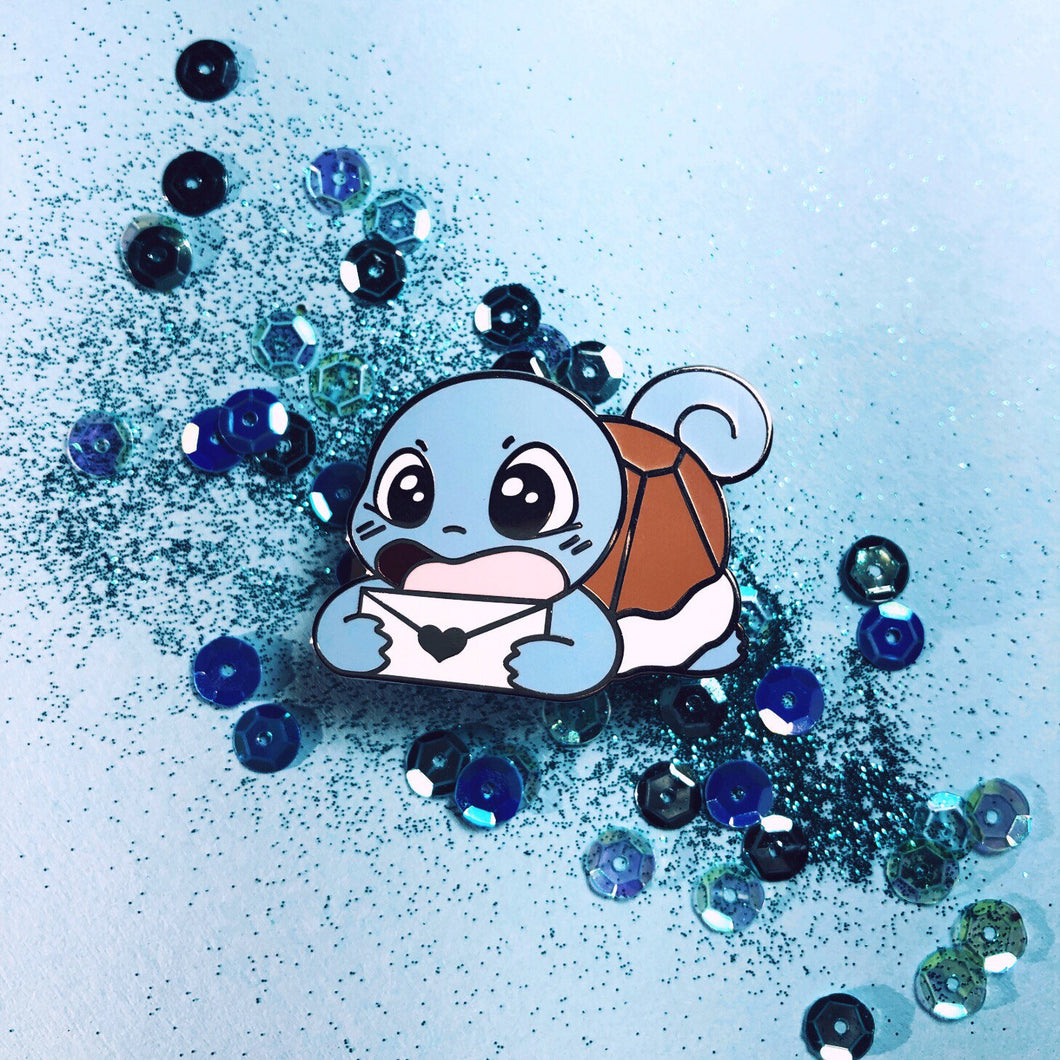 Messenger Squirtle Enamel pin - Petty Bones Club