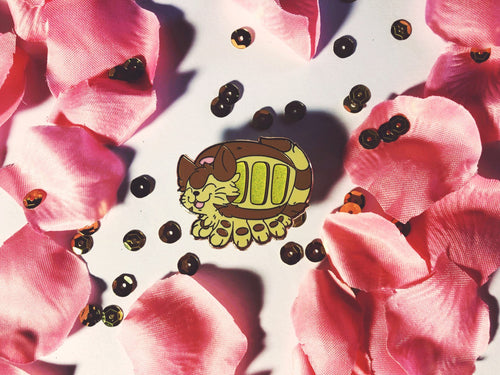 Catbus Hard Enamel pin - Petty Bones Club