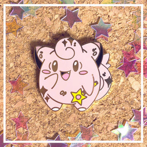 Sailor Scout Clefairy Enamel pin - Petty Bones Club