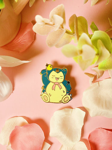 Sailor Snorlax enamel pin