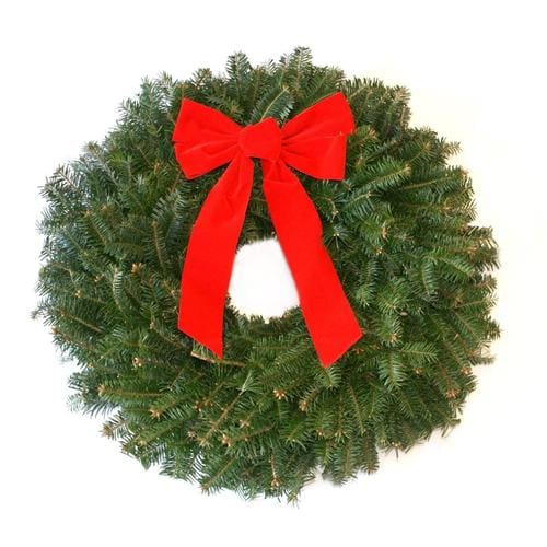 Holiday Wreath with Bow