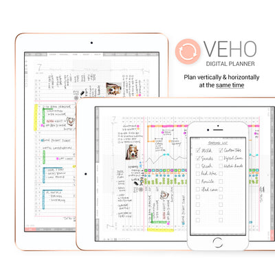 Veho digital planner - Goodplanr