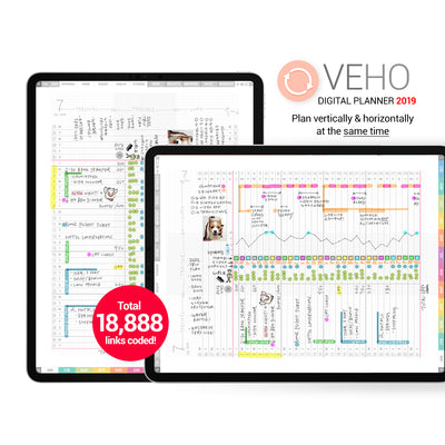 Veho digital planner 2019 - Goodplanr