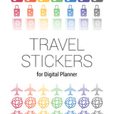 Travel digital stickers - Goodplanr