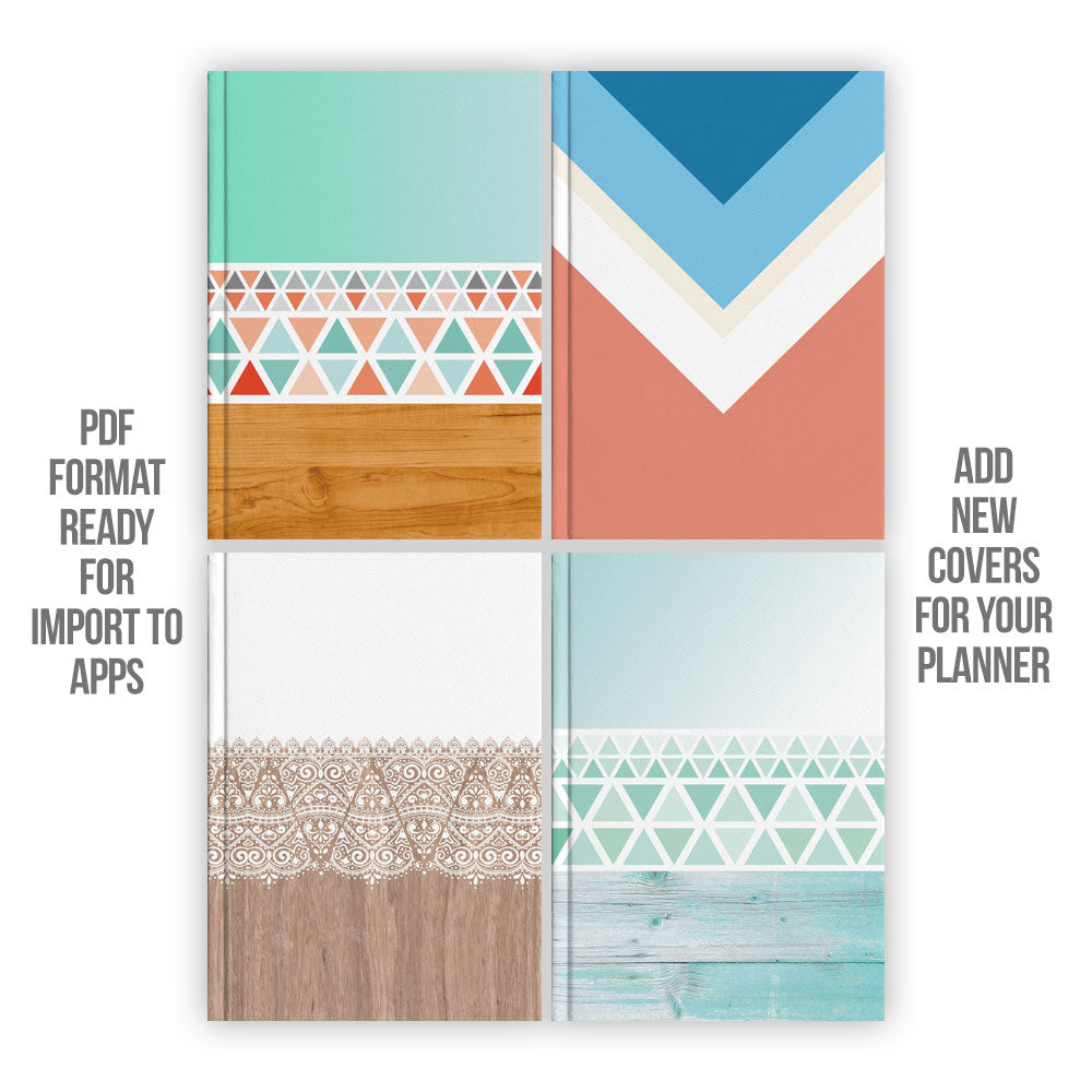 Aztec Digital Planner covers - Goodplanr
