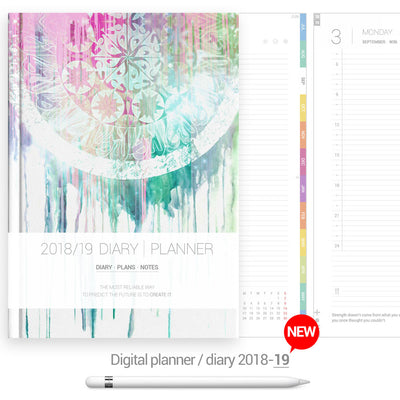 Dreamcatcher cover Digital Planner - Goodplanr