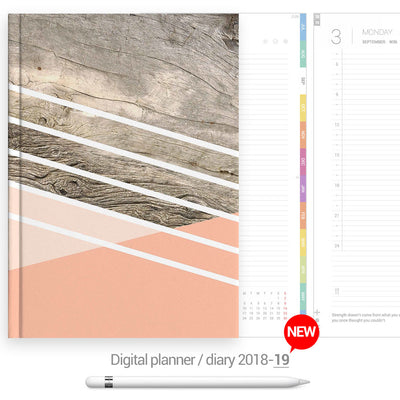 Geometric cover Digital Planner - Goodplanr