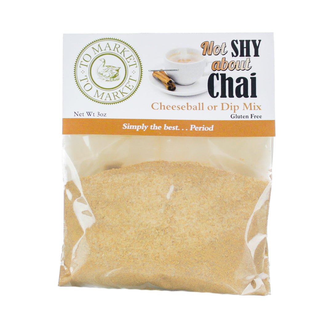 Not Shy about Chai!