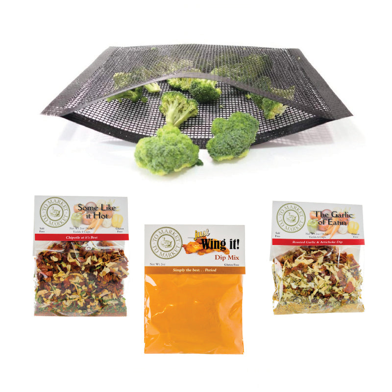 *NEW* BBQ Grilling Bags + 3 Dip Bundle