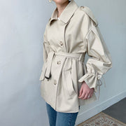 Momo half trench Coat