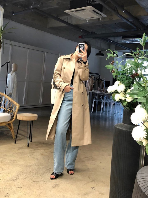 Signature trench Coat