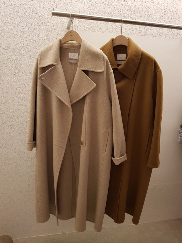 Cashmere hand-made Coat